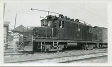 6B776 RP 1950s QRL&P QUEBEC RAILWAY LIGHT & POWER LOCOMOTIVE #34