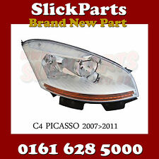 CITROEN C4 PICASSO HEADLIGHT HEADLAMP 2007 2008 2009 2010 2011 DRIVERS SIDE OSF
