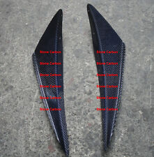 Carbon Fiber Front Canard 2 PCS For Lancer EVO 6 Front Bumper