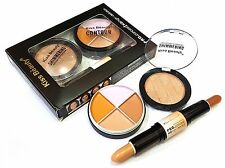 KISS BEAUTY SHADE-C HD 3 IN 1 FACE CONTOUR FOUNDATION, CONCEALER, PRIMER-23001