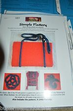 Felted Purse Bag Knitting Pattern by Knit Kit  The Simple Flattery
