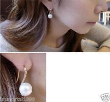 Boucles d'oreilles femme cristal perle d'imitation