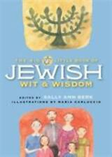 The Big Little Book of Jewish Wit and Wisdom (2000, Hardcover, Teacher's...