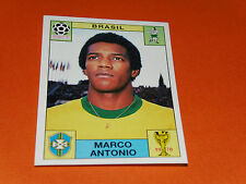 35 MARCO ANTONIO BRESIL MEXICO 70 FOOTBALL PANINI WORLD CUP STORY 1990 SONRIC'S