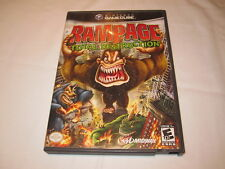 Rampage: Total Destruction (Nintendo GameCube) Game Complete Excellent!!