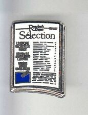 RARE PINS PIN'S .. TV RADIO PRESSE MAGAZINE FRANCE READER'S DIGEST BLEU ~B1
