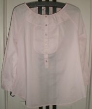 Coldwater Creek Ladies Pink Colored Versatile Spring Blouse Size 1X