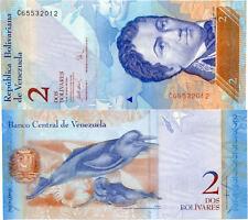 VENEZUELA 2 BOLIVARES 2007 NEUF UNC