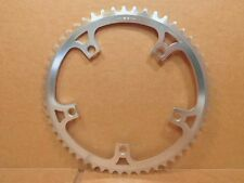 """New-Old-Stock SR Royal (3/32"""") Chainring w/Silver Finish (53T / 144 mm BCD)"""