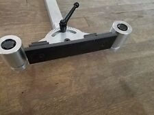 Platen Attachment with tool arm. Knife Making for 2 x 72 Belt Grinder / Sander
