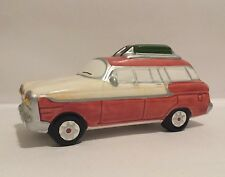 Dept 56 Snow Village Classic Car Station Wagon 54577 EUC