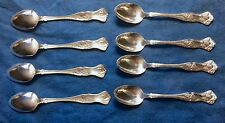 Lot of 8- 1847 Rogers Bros/International Vintage Grape Demitasse Spoon - PERFECT