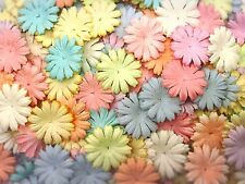 100 Mixed Pastel Color Daisy Flowers mulberry paper for Craft & DIY