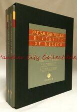 Natural and Cultural Diversity of Mexico 3v Box Set Cemex Fauna Flora Cultures