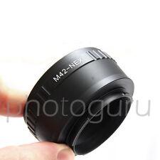 Anello adattatore obiettivi M42 su fotocamera SONY NEX ALPHA A5100 A6300
