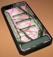ImpactGel Xtreme Armour Case iPhone 5/5s/SE, Pink Camo Hybrid Glossy Hard Shell