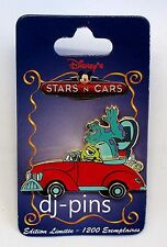 DLRP Disney Stars 'n Cars Series Mike and Sulley Le Disney Pin 77602