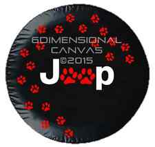 Jeep Wandering Paws Jeep spare tire cover