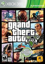 GRAND THEFT AUTO V * XBOX 360 * BRAND NEW FACTORY SEALED!