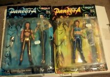 PANDORA Action Figure LOT OF 2 ORIGINAL & GOLD 1997 Bolt Entertainment MIB NEW