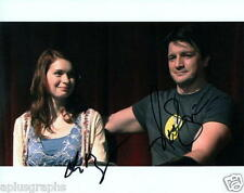 FELICIA DAY & NATHAN FILLION.. Dr. Horrible's Sing-Along Blog - SIGNED
