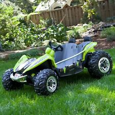 Fisher-Price Power Wheels ATV Dune Racer Battery Powered Riding Toy -, Green,
