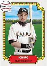 Topps Throwback Thursday 142 Ichiro Suzuki 1974 Topps Football Design