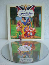 Snow White and the Seven Dwarfs | Schneewittchen | Laserdisc English | Near Mint