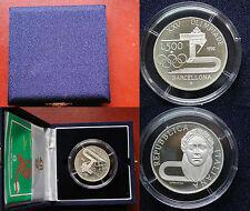 REPUBBLICA ITALIANA IPZS MONETA 500 LIRE PROOF XXV OLIMPIADE BARCELLONA 1992 #1