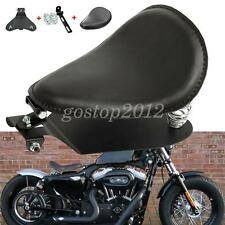 Motorcycle Leather Seat Solo Bracket Seat Base Sportster Chopper Custom Harley