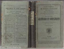 Cours Complet de Langue Française 2ème partie Grammaire & Compléments M.Guerard