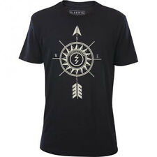 Electric Direction Short Sleeve Tee T-Shirt (M) Black