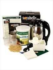 SOYMILK & TOFU MAKING KIT - SOY MILK MAKER MACHINE, TOFU KIT, 5 LBS SOYBEANS