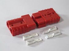 Authentic Anderson SB50 Connector Kit, Red  6 Awg 6319 2 Pack  2  Connectors