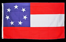 Civil War ACW Southern Confederate Confederacy 5x3ft 1st National Stars & Bars