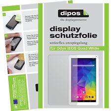 2x dipos Odys IEOS Quad White Edition matte Schutzfolie Antireflex Testsieger