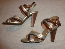 FOREVER COLECTED BY PAULA ABDUL SANDALS WOMEN'S SIZE 8  (4 INCH HEEL)