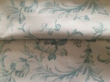 Laura Ashley Ironwork Scroll  Duck Egg  Table Runner  Fully Lined. New!