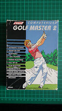 Systema Computerized Golf Master 2 Handheld Computer Game - Excellent Condition!