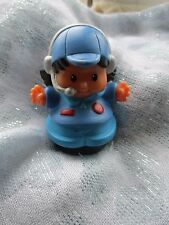 "Fisher price /little people figure "" girl. "" ( Vintage pilot ? )"