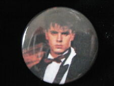 Duran Duran-John Taylor-Black Tie-Pin-Badge-Button-80's Vintage-Rare