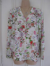 Really pretty BNWT Z & I white floral blouse RRP €59.95 size M (UK 10)