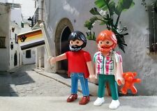 PLAYMOBIL ADULTE COUPLE PRIDE GAY BEAR WEEK OURS HOMO PLAGE SITGES BARCELONE