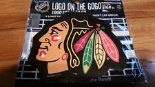NHL Chicago Blackhawks Logo on the GoGo CAR AUTO FRONT GRILL GRILLE  LOGO NEW!