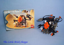 Rare Lego Bionicle 8556 BOXOR Figure & Vehicle - Complete set with instructions