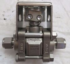 SWAGELOK SS-63TS6 Ball Valve, Reinforced PTFE Seats, 3/8 in. (NO VALVE)
