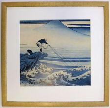 Hokusai Kajikazawa In Kai Province incorniciato stampa da 36 viste di Mount Fuji