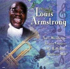 Great Louis Armstrong, Vol. 1 by Louis Armstrong (CD, Platinum Disc Corp.) : Lou