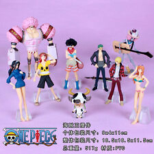 One Piece Anime Manga Figuren Set 9 Stück H:5-14cm Neu