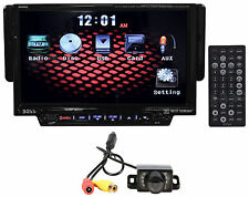 "Boss BV8962 7"" Touchscreen DVD/USB/SD Monitor/Receiver+Rearview Backup Camera"